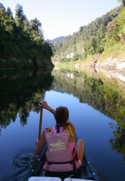 Canoe journey through the Whanganui National park
