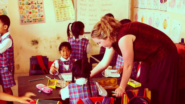 volunteer kindergarten teacher in Bali