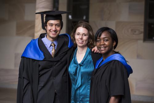 IWC Students graduating in 2013