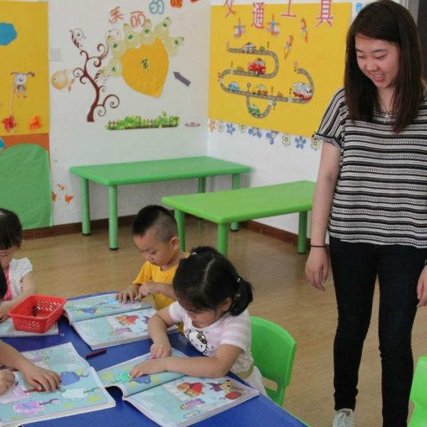 Pre-School Education Program in China with Love Volunteers!