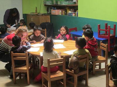 Volunteer in a Kindergarten