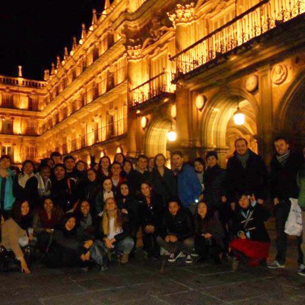 Alumnos de Letra Hispánica