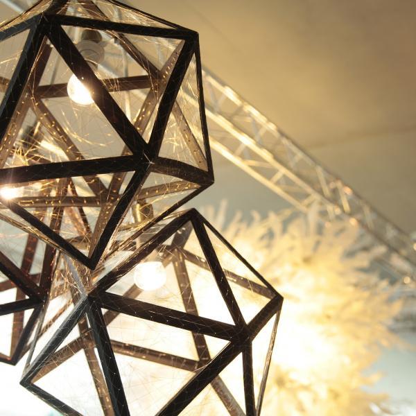 Lighting design by student at Nottingham Trent University