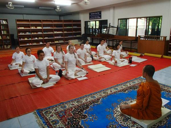 Meditation Retreat run by Thai Monks at Wat Suan Dok