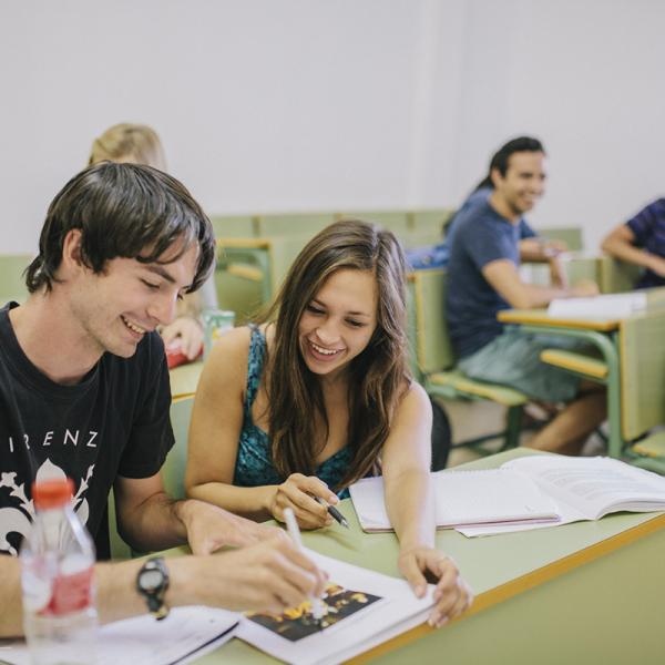 Spanish classes at the University