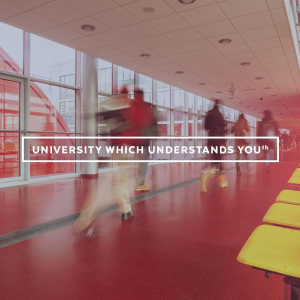 University which understands you(th)