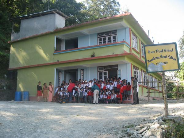 New school building in Sikkim