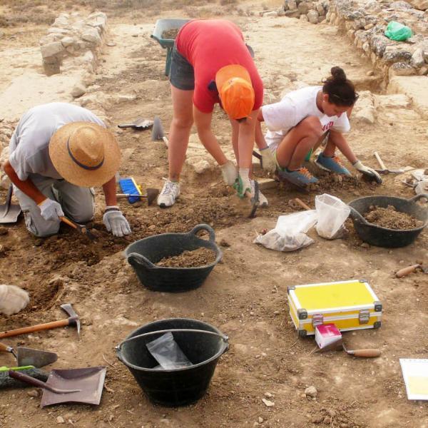 Digging at Roman Fortress 2014
