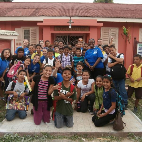 Service learning project wraps up in Benque Viejo at the House of Culture