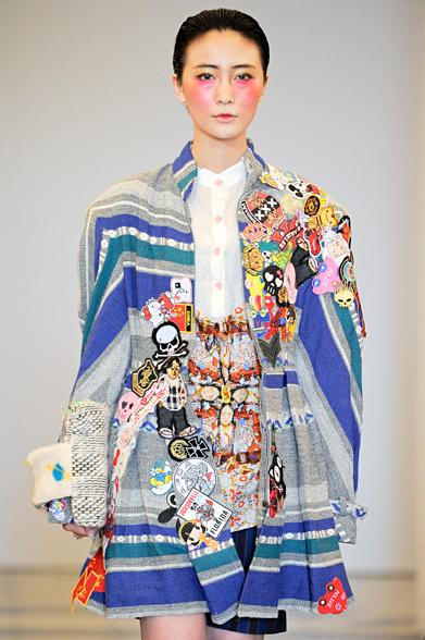 Work by Polimoda fashion students showcased in fashion show