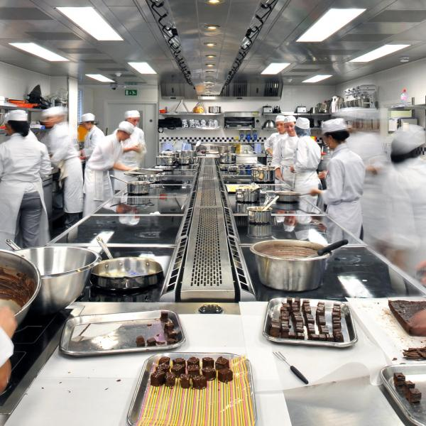 In the Kitchen at Le Cordon Bleu London