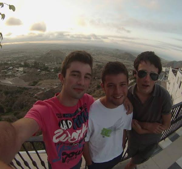 selfies in Spain