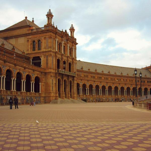 Plaza de Espana - Intern in Seville - Adelante Abroad