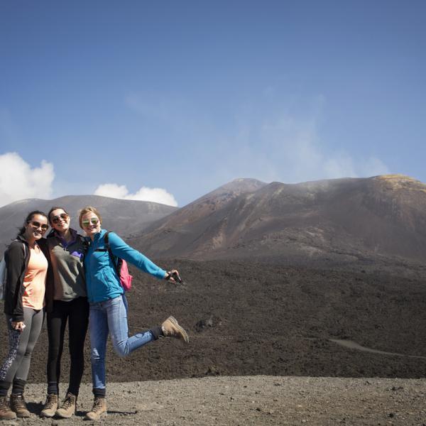 Sicily, Community Service, Catania, Biancavilla, Teen Travel, Local Community Center, Mt Etna, Hiking, Volcano