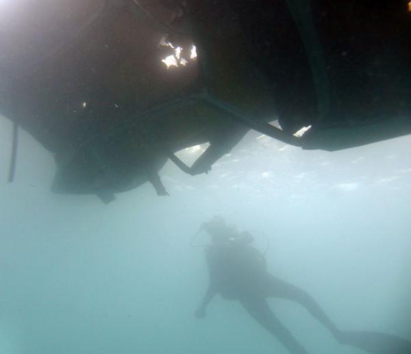 Sinking a Wreck