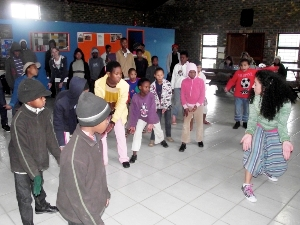Assist at the Street Kids Project in South Africa