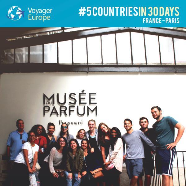 Visiting Musée du Parfum
