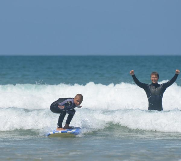 Volunteer Project - Surfing with Kids
