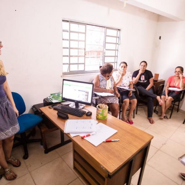 Volunteering teaching in Rio de Janeiro, Brazil