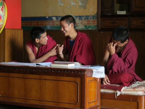 Teaching in Buddhist Monasteries