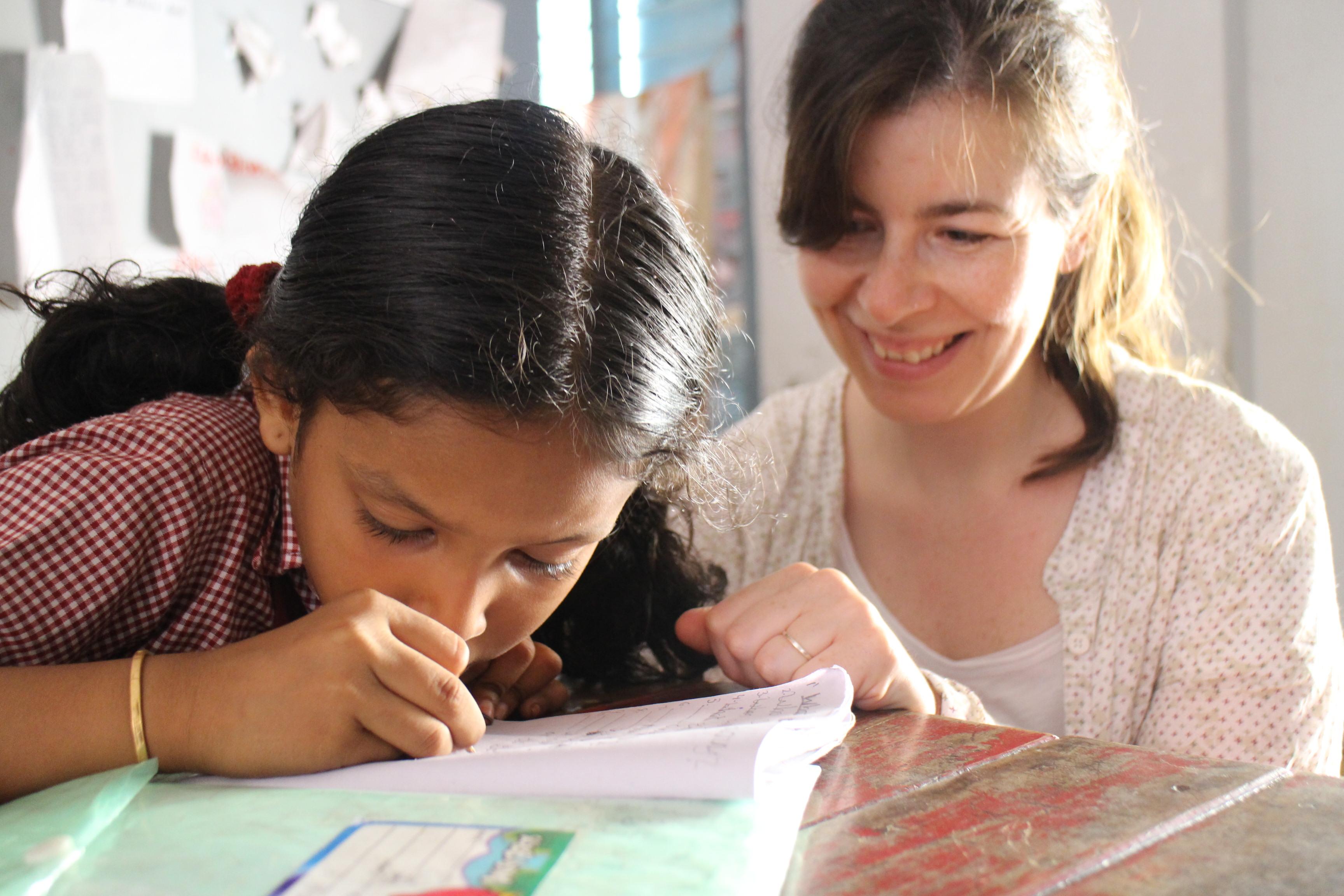 teaching in India