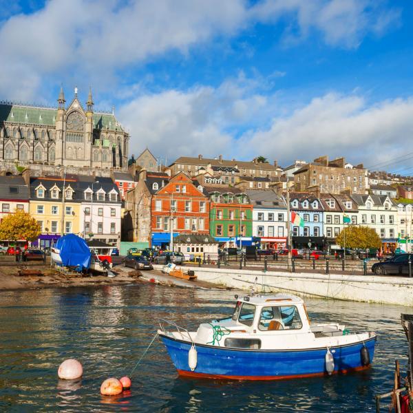Harbor in County Cork, Ireland