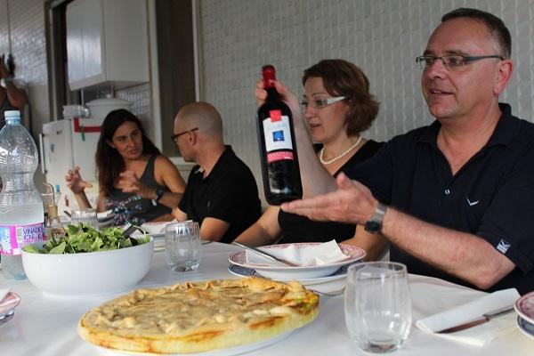 wine and cooking in Italy