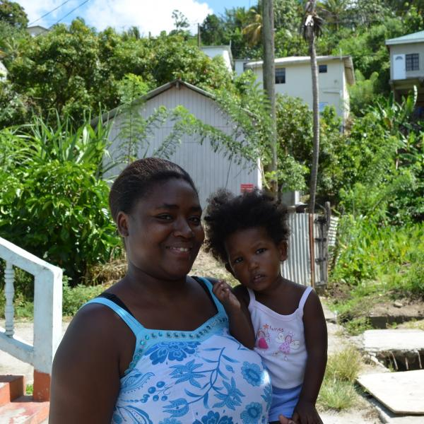 Work Mothers as a Volunteer in St. Lucia