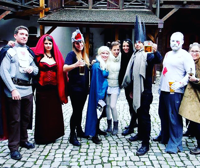 Castle Costume Parties in Prague