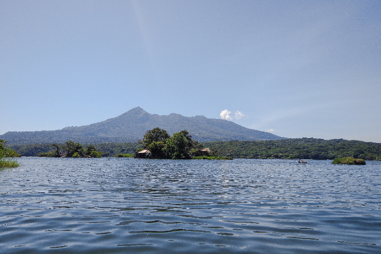 View of Lake Nicaragua and Ometepe Island in Nicaragua