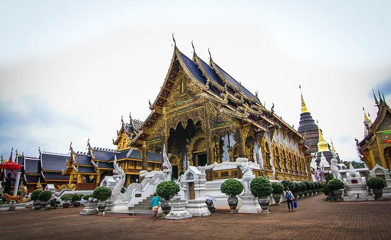 Wat Ban Den, Chiang Mai, Thailand