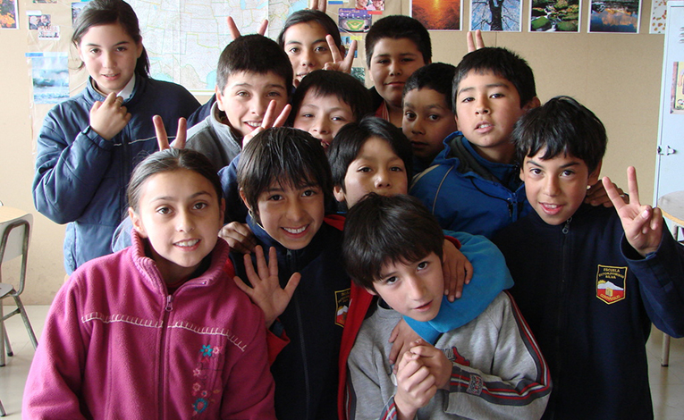 Students in Chile