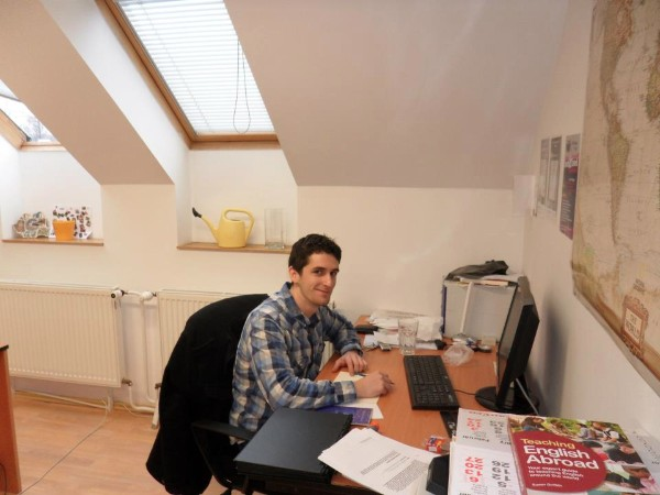 Participant at the TEFL Worldwide Prague office