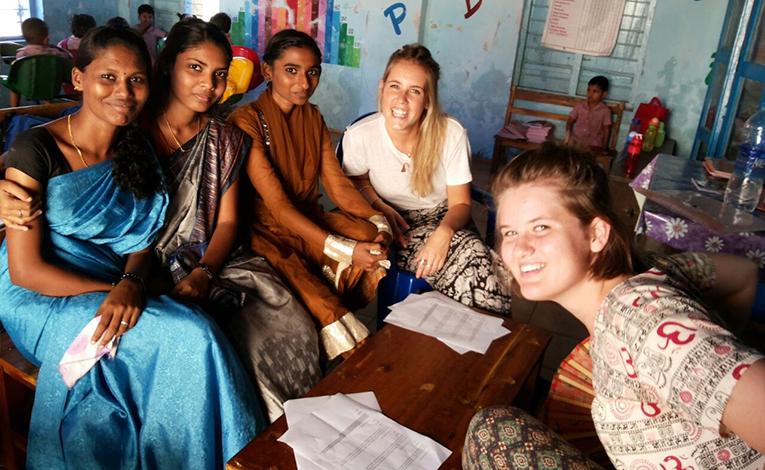 Women's Empowerment volunteers in India