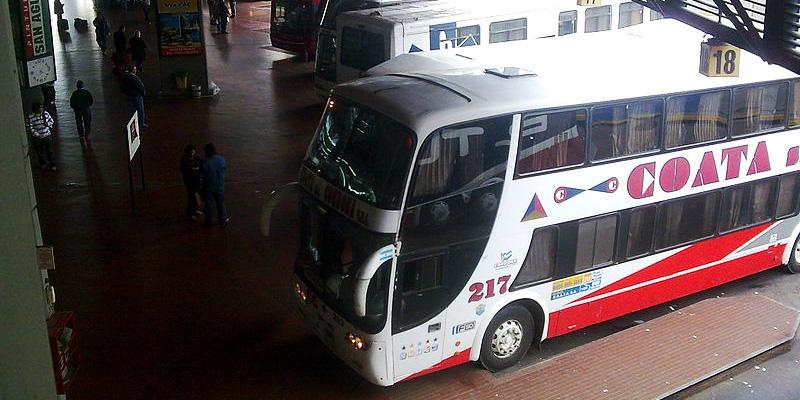Bus terminal in Cordoba