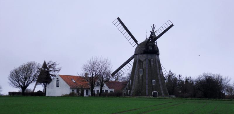 Svanemollen Windmill, Svaneke, Bornholm