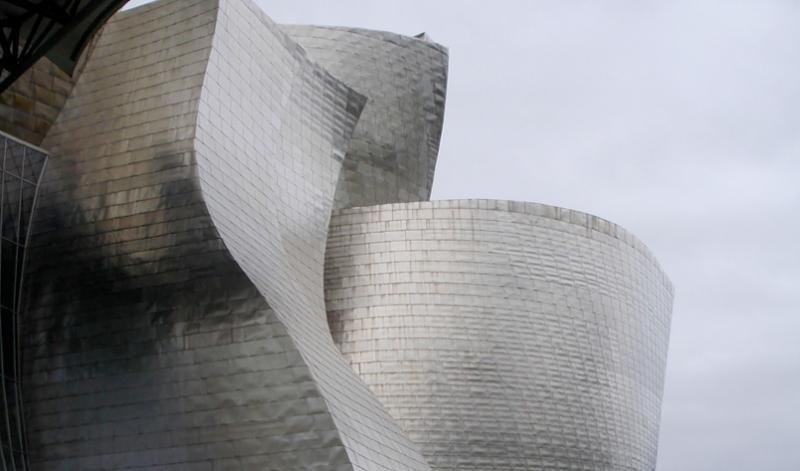 The Guggenheim Museum in Bilbao, Spain.