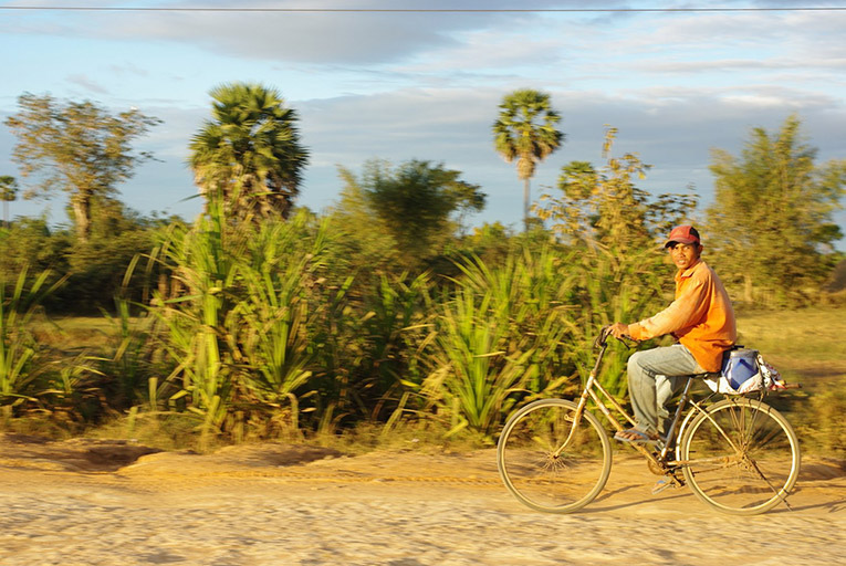 A local on a bikeride.
