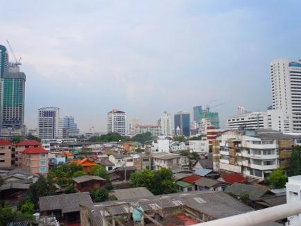 City skyline in Bangkok, Thailand