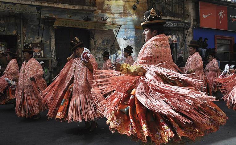 Festival in La Paz, Bolivia