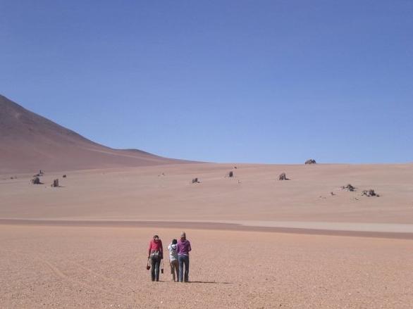 Near the Dali Rocks in Northern Chile