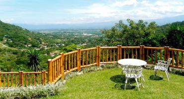 Enjoy the view of the Costa Rican countryside