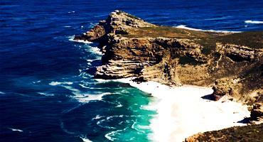 Blue waters off Cape Point, South Africa