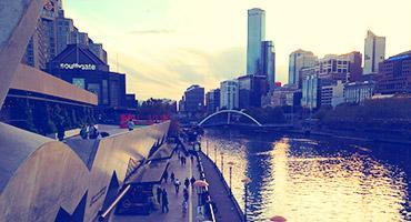 Yarra river, Melbourne.
