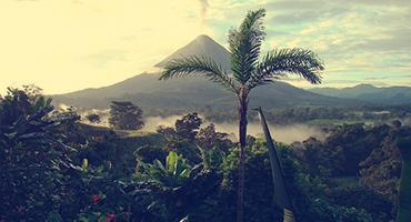 Mountain view in Central America