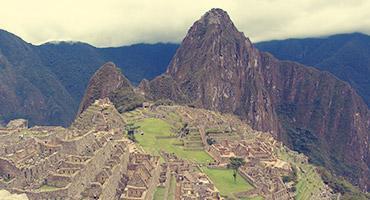 Machu Picchu of Peru