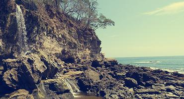 One of Costa Rica's beaches