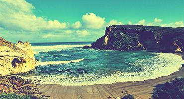 Coastline in Australia