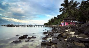 Coastal view in Malaysia