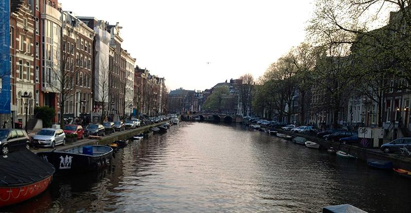 Amsterdam canal, Netherland.